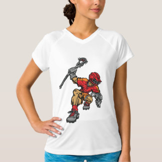 Lacrosse Player Womens Active Tee