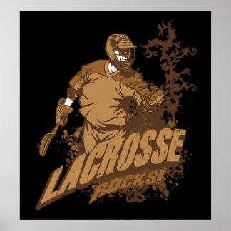 Lacrosse Rocks! Poster