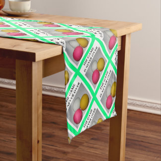 lacrosse short table runner