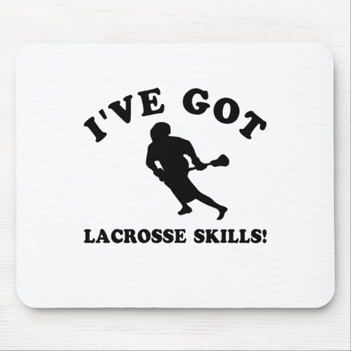 lacrosse skill gift items mouse pad