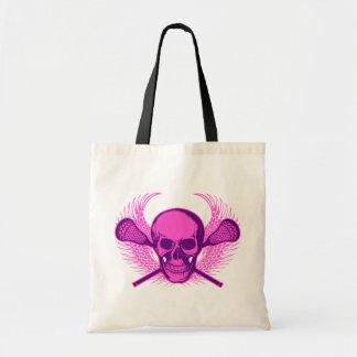 Lacrosse Skull - Purple