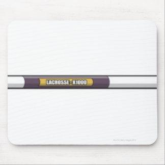 Lacrosse stick mouse pad