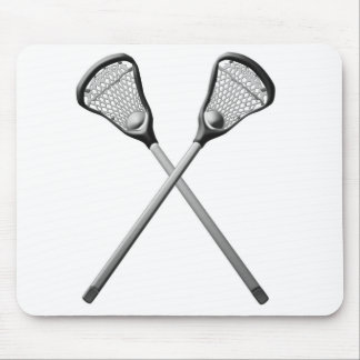 Lacrosse Sticks Mouse Pad