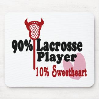 Lacrosse Sweetheart Mouse Pad