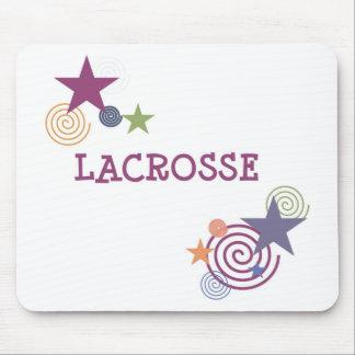 Lacrosse Swirl Mouse Pad
