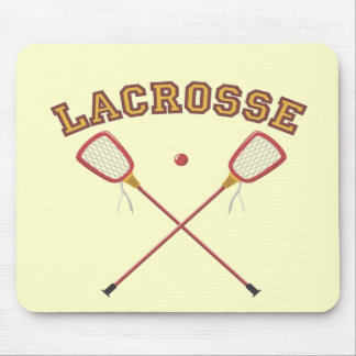 Lacrosse T-shirts and Gifts. Mouse Pad