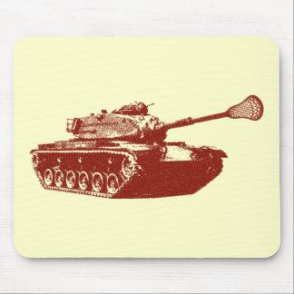 Lacrosse Tank Mouse Pads