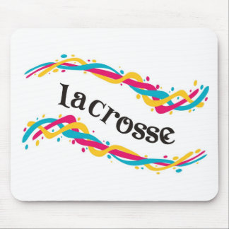 Lacrosse Twists Mousepad