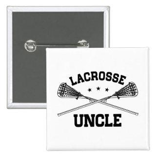 Lacrosse Uncle 15 Cm Square Badge