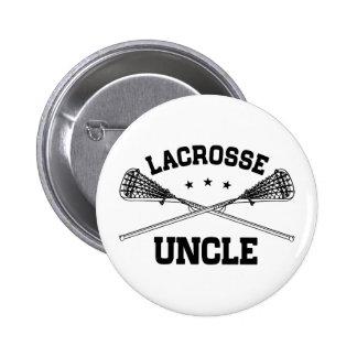 Lacrosse Uncle 6 Cm Round Badge