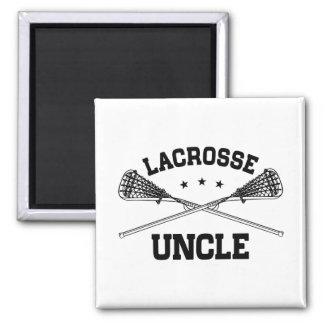 Lacrosse Uncle Magnet