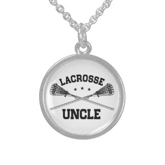 Lacrosse Uncle Sterling Silver Necklace