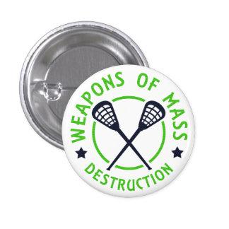 Lacrosse Weapons of Destruction Pin