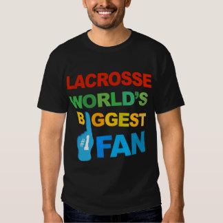 Lacrosse - World's Biggest Fan Mens T-shirt