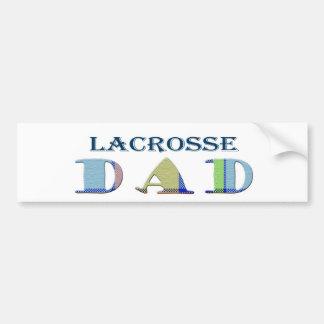 LacrosseDad Bumper Sticker