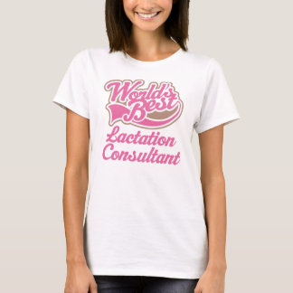 Lactation Consultant (Worlds Best) Womens T-shirt