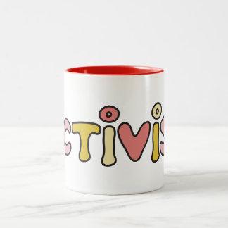 Lactivist Two-Tone Coffee Mug