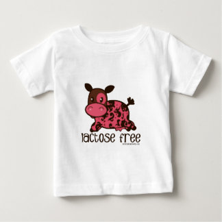 Lactose Free Pink Cow Baby T-Shirt