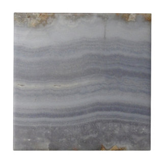 Lacy Blue Agate Natural Cabochon Small Square Tile