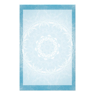 Lacy Flowers Mandala Stationary Stationery