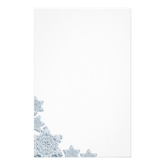 Lacy Snowflake Stationery