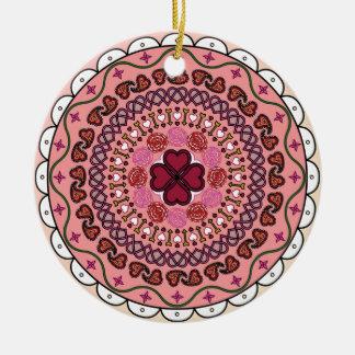 Lacy Valentine's Day Ornament