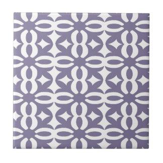 Lacy Wisteria Victorian Print Ceramic Tile
