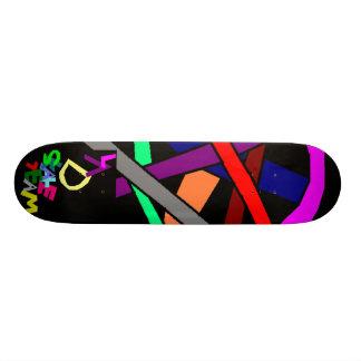 lad over lap skate deck