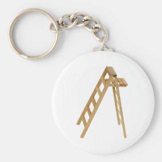 Ladder030609 copy basic round button key ring
