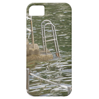 Ladder descending into the sea water iPhone 5 covers