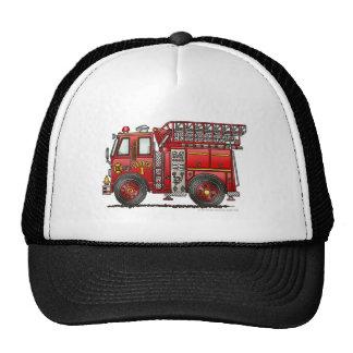 Ladder Fire Truck Firefighter Cap