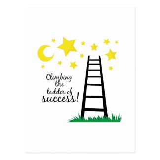 Ladder of Success Postcard
