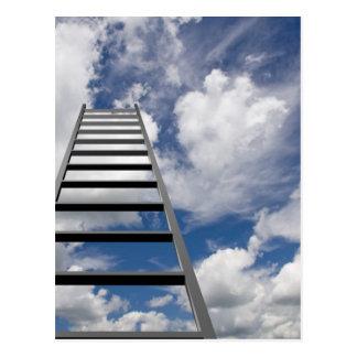 Ladder to Success Postcard