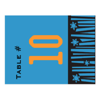 LADDER to the STARS Table Number Seating Card Postcards