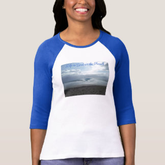 Ladies 3/4 Sleeve Raglan (Fitted) Baseball Jersey T-Shirt