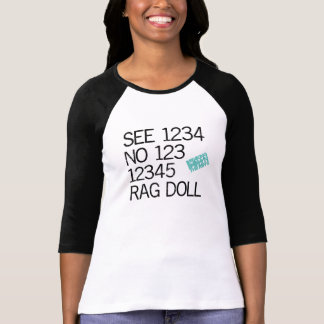 Ladies 3/4 Sleeve Raglan (Fitted) T-shirt