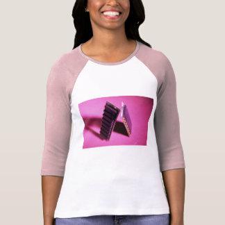 Ladies 3/4 Sleeve Raglan (Fitted) Tees