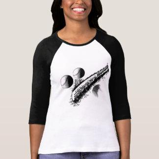 Ladies 3/4 Sleeve Raglan (Fitted) Tshirt