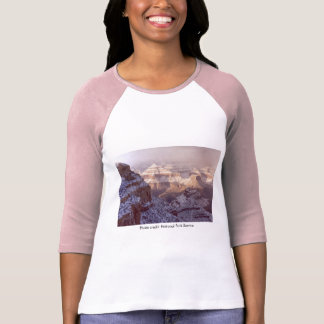 Ladies 3/4S T / Grand Canyon Winter T-Shirt