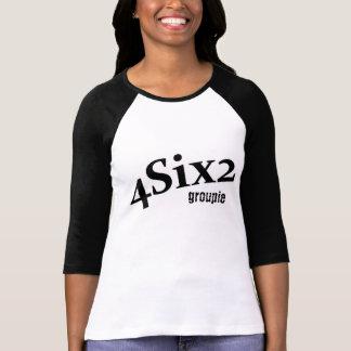 Ladies 4Six2 logo GROUPIE T shirt