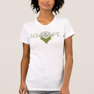 Ladies AA Reversible Sheer Top - Wearing The Rank