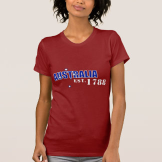 Ladies Australia, Est. 1788 t-shirt