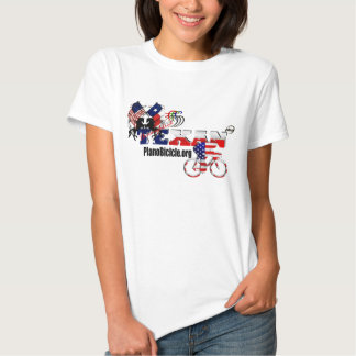 Ladies babydoll Texan Cycling fitted t-shirt