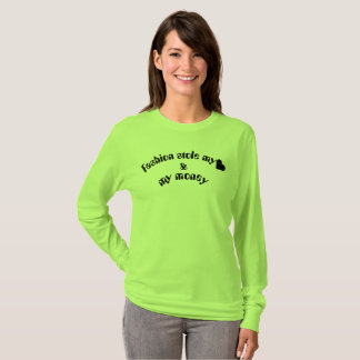 Ladies BASIC sweater lime, longsleeves