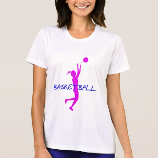 LADIES BASKETBALL PERFORMANCE MICRO FIBER SHIRT