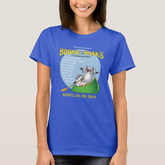 Ladies Boogie on the Banks T-Shirt