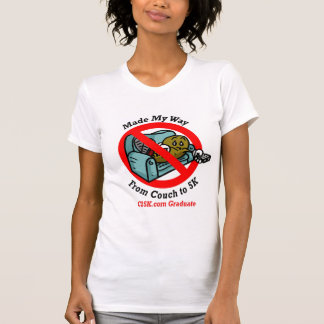 Ladies C25K Graduate's Micro Fiber Singlet T-shirts
