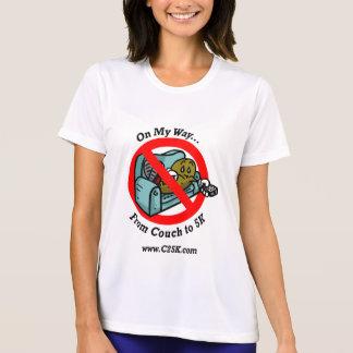 Ladies C25K Program Micro Fiber T-Shirt