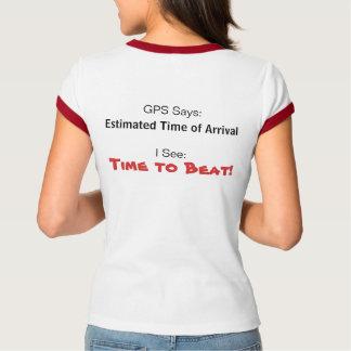 Ladies Cap Tshirt - Time to Beat