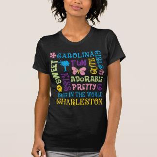 Ladies Carolina Girl Text T-Shirt